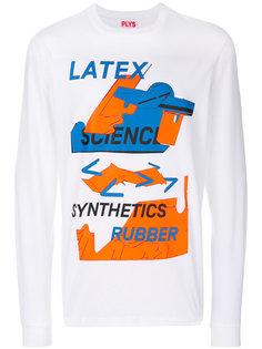 свитер с графическим принтом  Plys