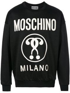 толстовка с вопросительным знаком Moschino