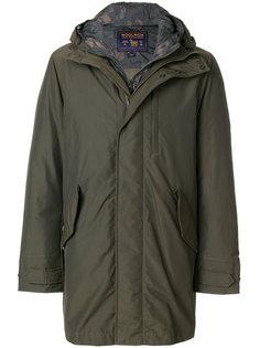 пальто с капюшоном Woolrich