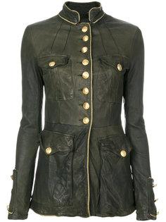 приталенная куртка милитари  Giorgio Brato