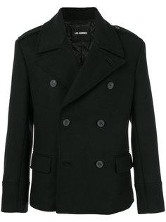 двубортный пиджак Les Hommes
