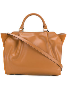 сумка-тоут через плечо с верхней молнией DKNY