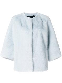 куртка с укороченными рукавами  Yves Salomon