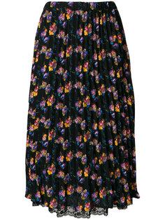 плиссированная юбка с цветочным принтом Essentiel Antwerp