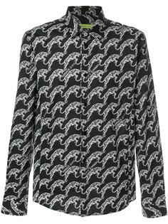 рубашка с принтом тигров Versace Jeans
