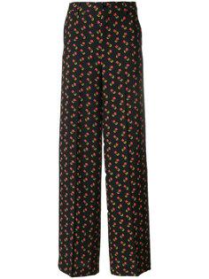 широкие брюки с цветочным принтом  Essentiel Antwerp
