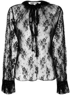 кружевная блузка  McQ Alexander McQueen