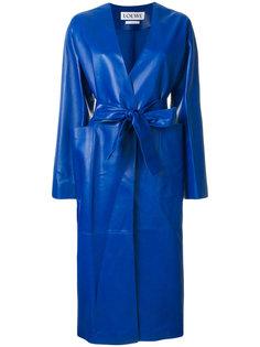 длинное пальто-тренч  Loewe