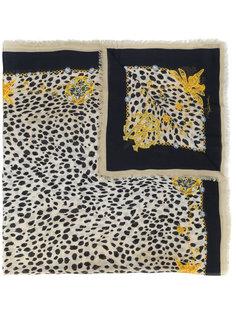 платок с принтом Roberto Cavalli