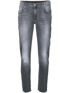 джинсы с потертостями 7 For All Mankind