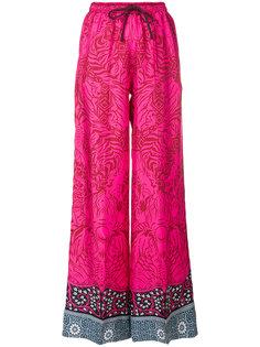 брюки-палаццо с принтом  Mary Katrantzou