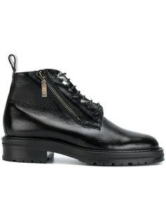 ботинки на подкладке из шерсти ягненка William Saint Laurent