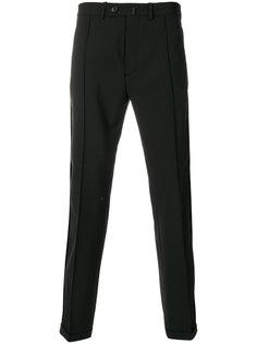 классические брюки с подвернутыми манжетами Diesel Black Gold