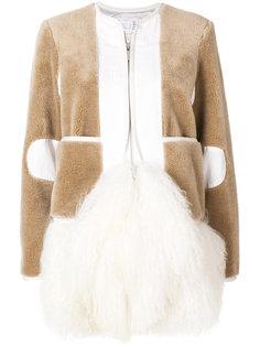 пальто на молнии  Sacai