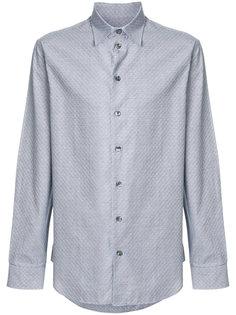 текстурированная рубашка Armani Collezioni