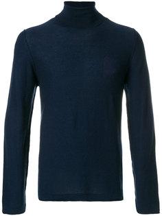 классический свитер с отворотной горловиной Weber + Weber