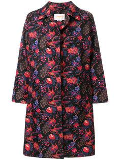 жаккардовое пальто La Doublej