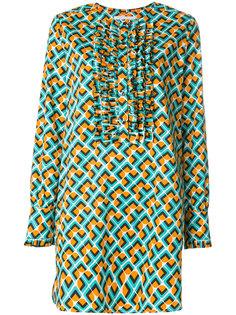 платье с рюшами Domino La Doublej