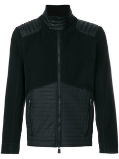 quilted detail fleece Moncler Grenoble