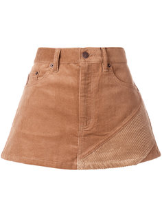 вельветовая мини-юбка  Marc Jacobs