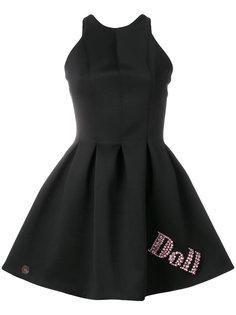расклешенное платье Doll Philipp Plein