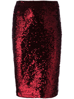юбка-карандаш с пайетками P.A.R.O.S.H.