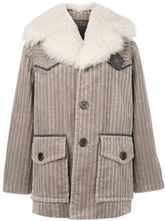вельветовое пальто  Marc Jacobs