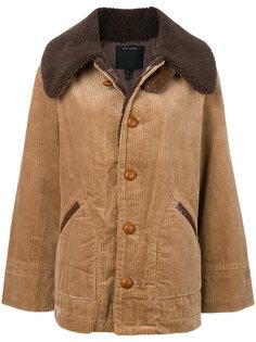 вельветовая куртка свободного кроя Marc Jacobs