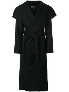 удлиненное пальто с поясом Mackage