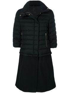 удлиненное пуховое пальто Tatras