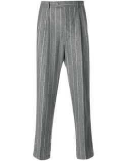 брюки стандартного кроя в полоску Lc23