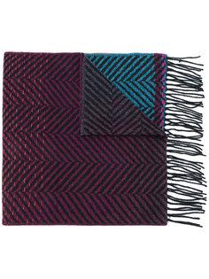 шарф с градиентным эффектом  Ps By Paul Smith