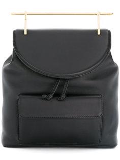 рюкзак с золотистой ручкой M2malletier