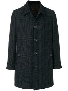 классическое пальто на пуговицах Paltò