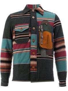 рубашка в полоску Kolor