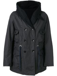 """пальто с воротником """"шалька"""" East Harbour Surplus"""