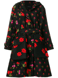 floral coat  Simone Rocha
