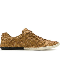 textured leather sneakers Osklen