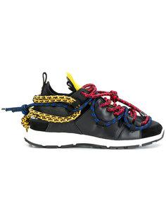 кроссовки с веревками Dsquared2