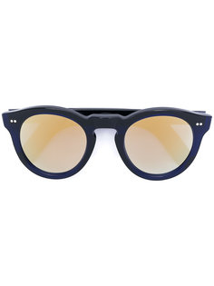 круглые солнцезащитные очки с зеркальными линзами Cutler & Gross