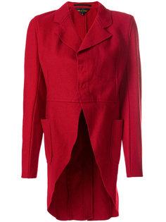 curved hem jacket Comme Des Garçons