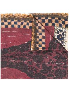 шарф с вышивкой Pierre-Louis Mascia
