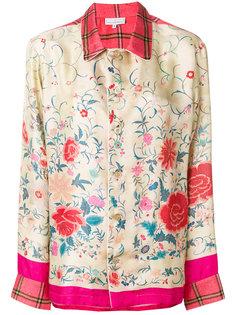 блузка с цветочной вышивкой  Pierre-Louis Mascia