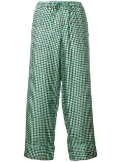 укороченные строгие брюки  Pierre-Louis Mascia
