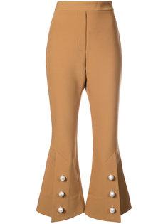 брюки клеш с круглыми бусинами Ellery