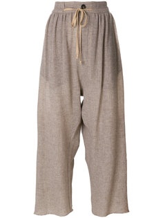 укороченные широкие брюки  Vivienne Westwood