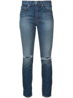 джинсы скинни с рваной отделкой Grlfrnd