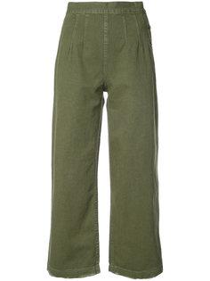 укороченные широкие джинсы  Grlfrnd