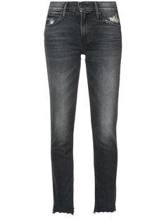 джинсы скинни с потертой отделкой Mother