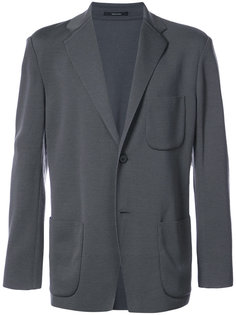 пиджак с накладными карманами Issey Miyake